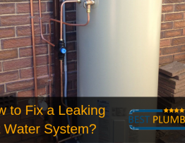 Hot Water System leaking Banner