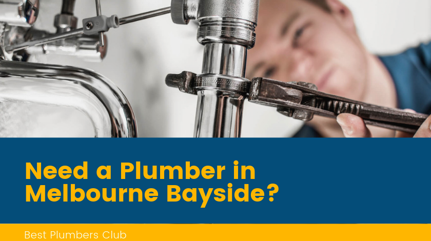 Plumbers Melbourne Bayside Banner