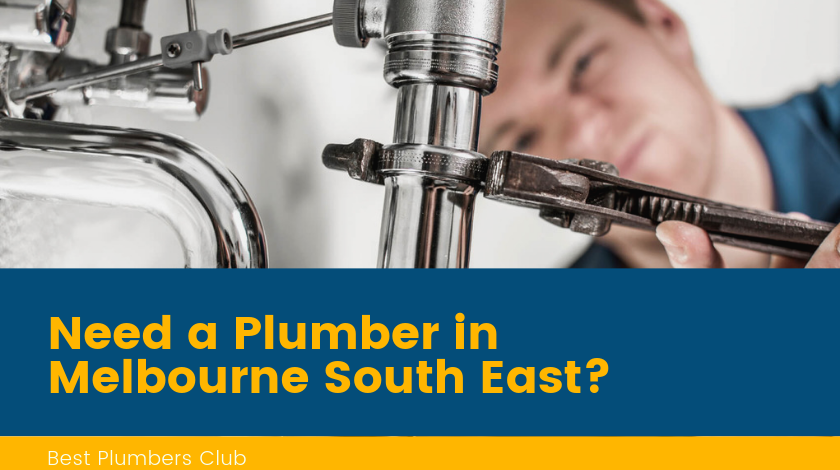 Plumbers Melbourne South East Banner