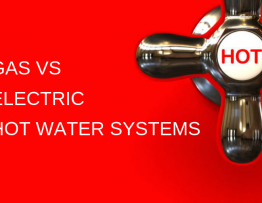 gas vs electric hot water systems