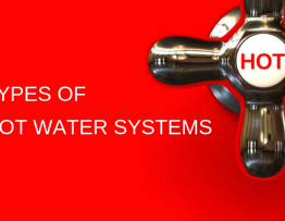 types of hot water sytems