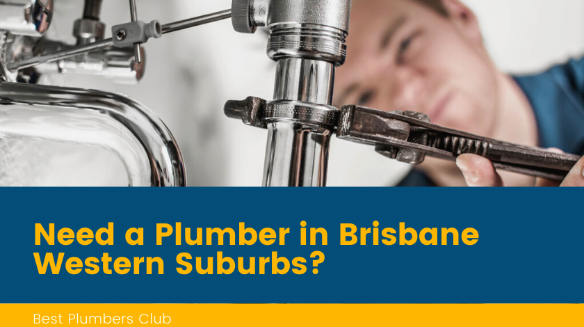 Plumbers Brisbane Western Suburbs Banner
