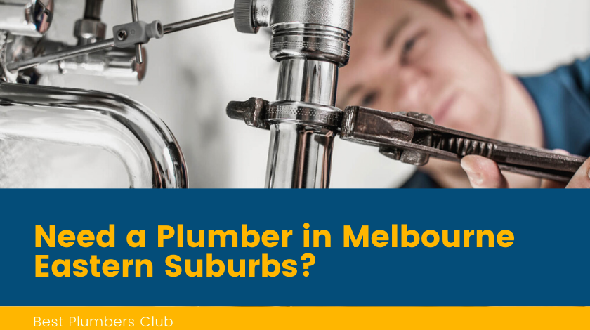Plumbers Melbourne Eastern Suburbs Banner
