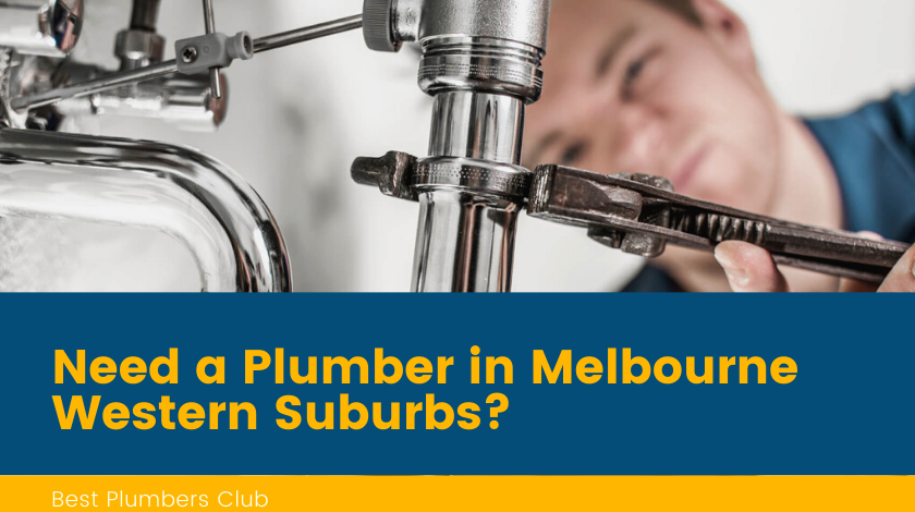 plumbers western suburbs melbourne banner