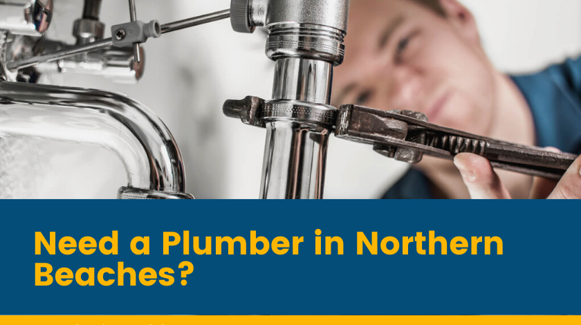 plumbers northern beaches Banner