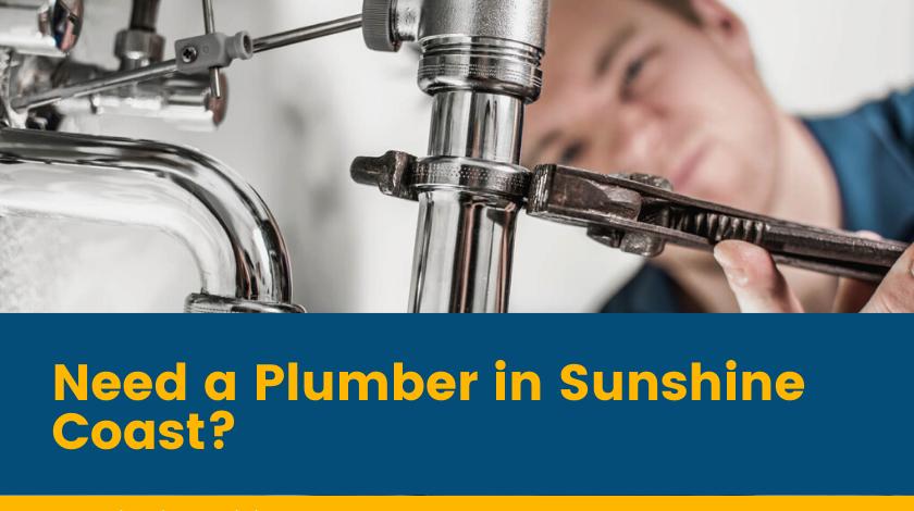 plumbers sunshine coast Banner