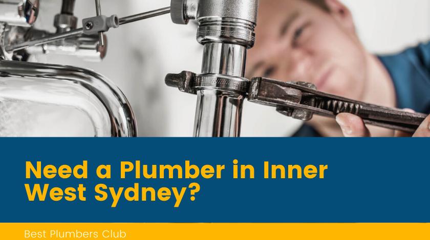 Plumbers Inner West Sydney Banner