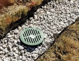 french drain system installation
