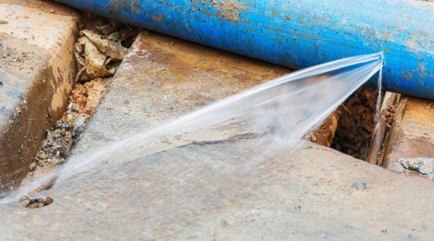 find water leak