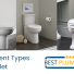 types of toilets banner
