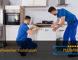 dishwasher installation banner