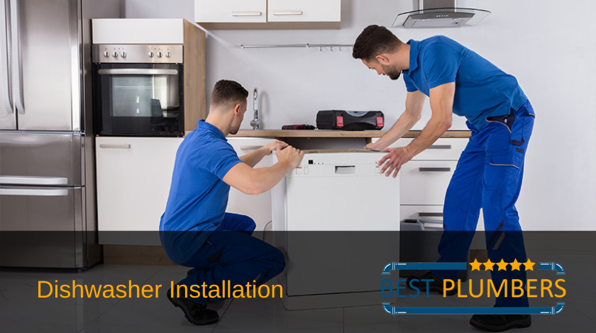 dishwasher installation banner