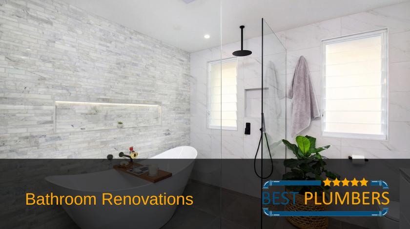 bathroom renovations and plumbing