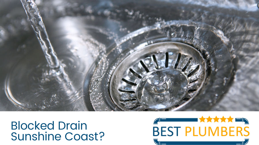 blocked drains sunshine coast
