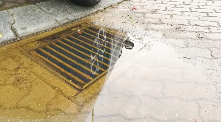 who is responsible for storm water drains