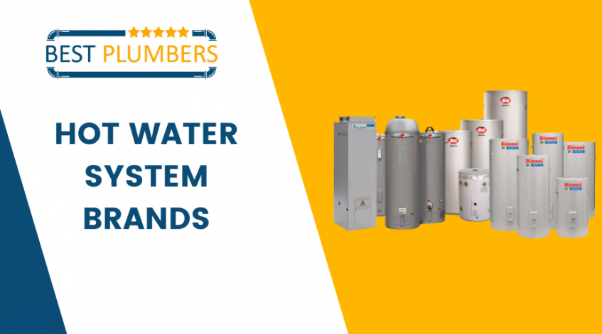 hot water system brands banner