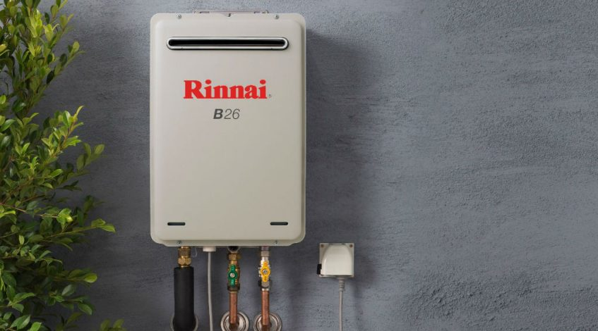 rinnai instant gas hot water system problems