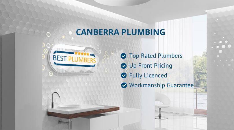 best plumbers canberra banner