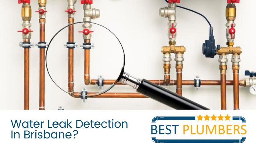 water leak detection brisbane