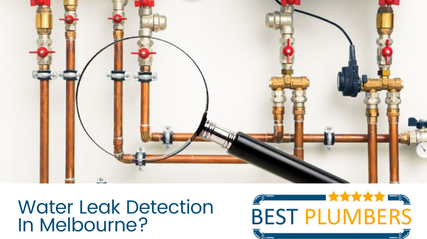 water leak detection melbourne